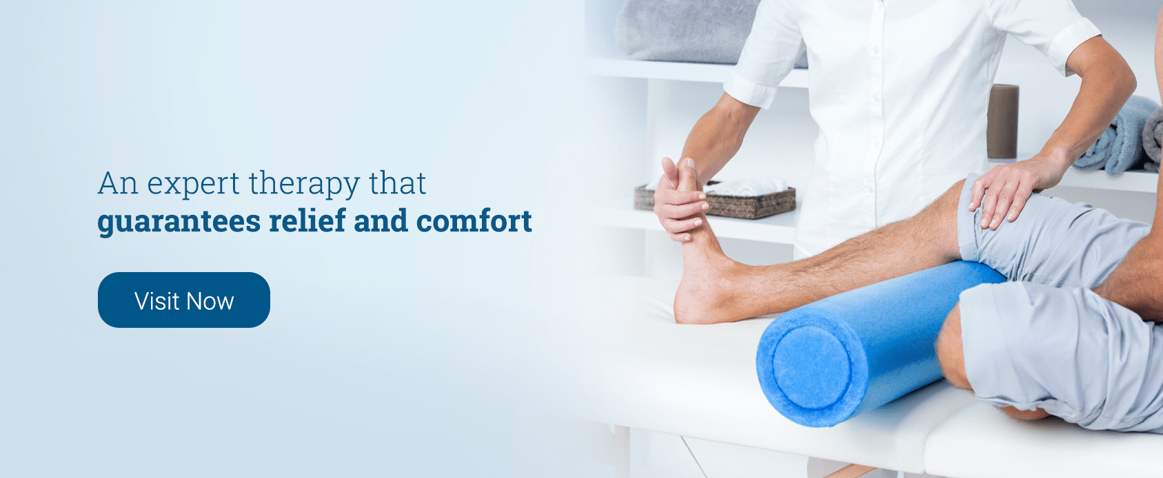 Physiotherapists will relieve you from pain