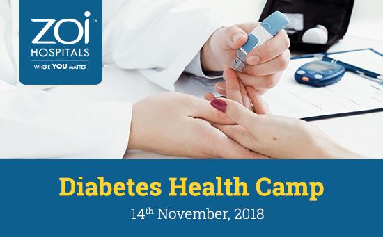 DIABETES HEALTH CAMP ATTAPUR – 14TH NOVEMBER 2018