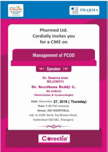 CME on the Management of PCOD