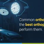 Orthopedic surgeries