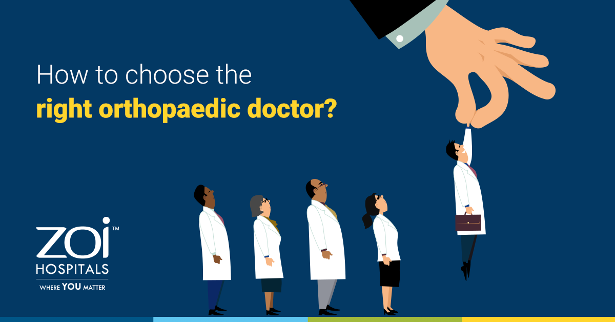 How to choose the right orthopedic doctor