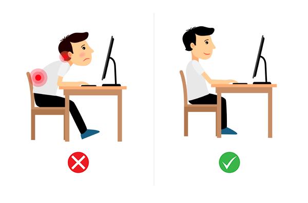 ergonomic chair-posture