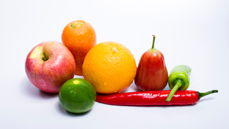 Diet after a shoulder replacement surgery -Bell peppers and Citrus Fruit