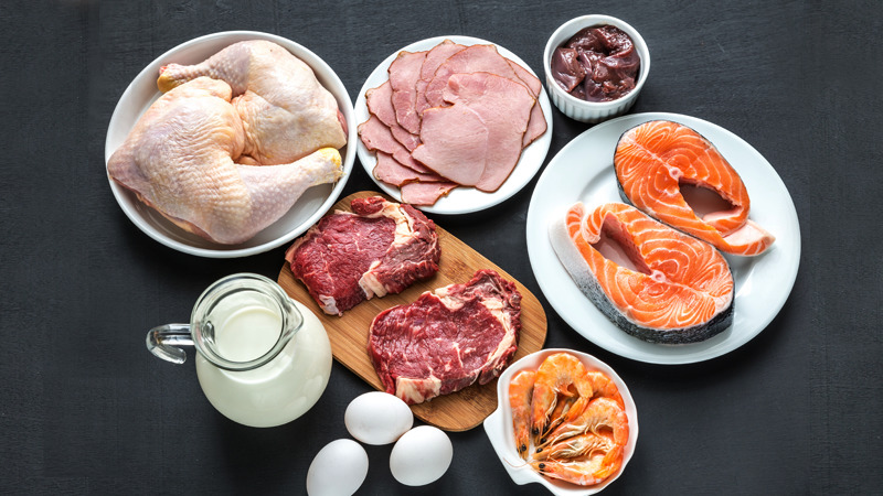 Diet after a shoulder replacement surgery -Include Lean protein