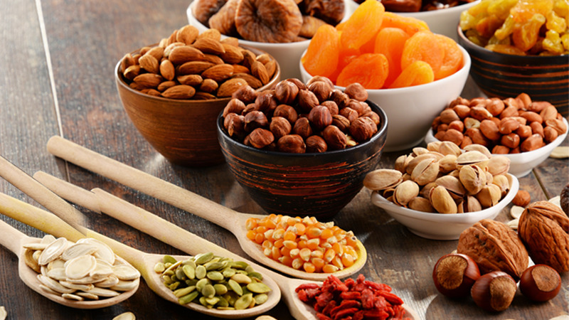 Diet after a shoulder replacement surgery - Nuts and seeds