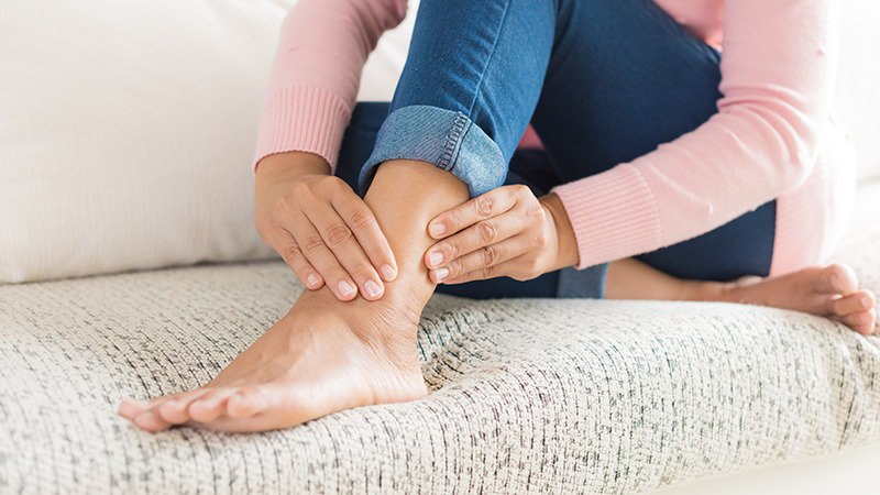 Knee replacement exercises -Ankle pumps and circles