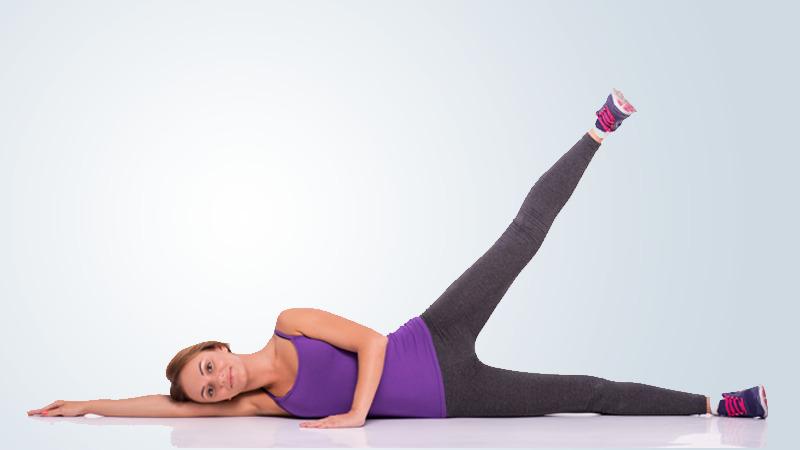 Knee replacement exercises -Leg slides