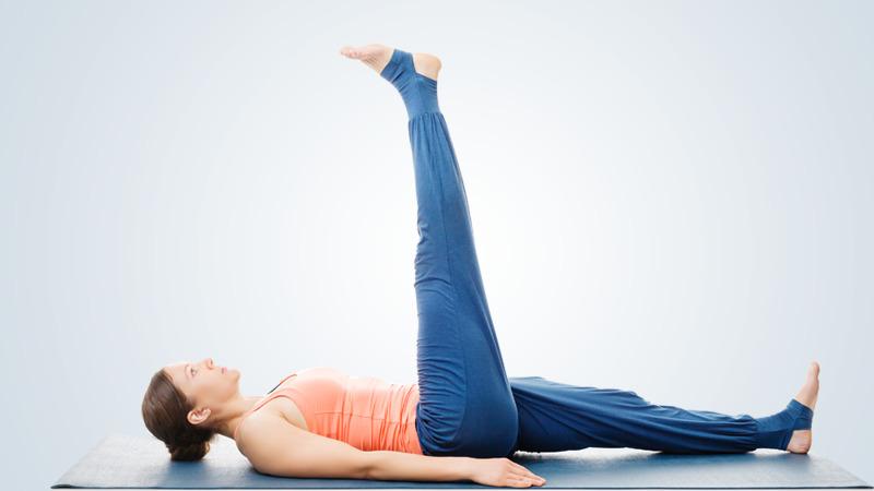 Knee replacement exercises - Straight leg raises